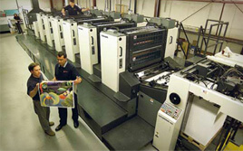Offset & Digital Printing: Print Management Services.